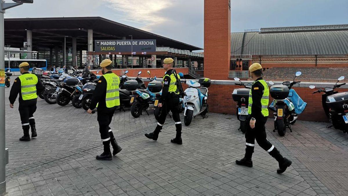 El ejército se desplegará en ciudades como Madrid, Valencia y Sevilla para hacer frente al coronavirus