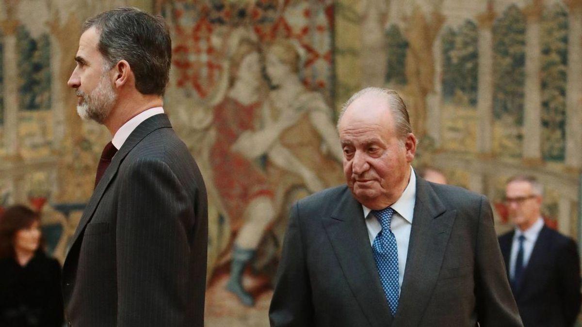 Felipe VI renuncia a la herencia de Juan Carlos I y le retira la asignación