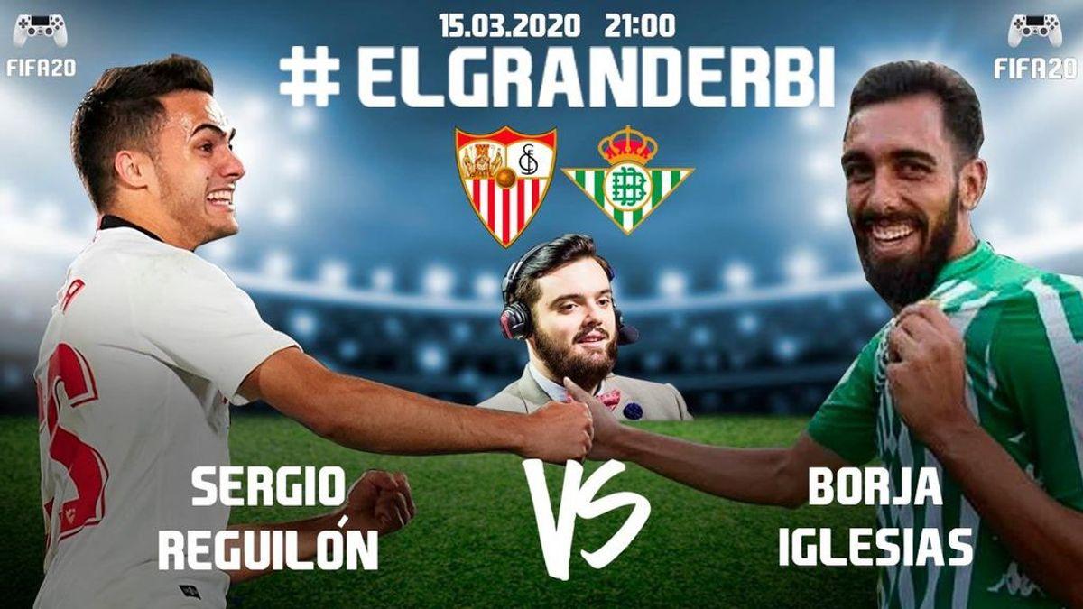 Sigue en directo el derbi sevillano entre Reguilón y Borja Iglesias en el FIFA 20 con la narración de Ibai Llanos
