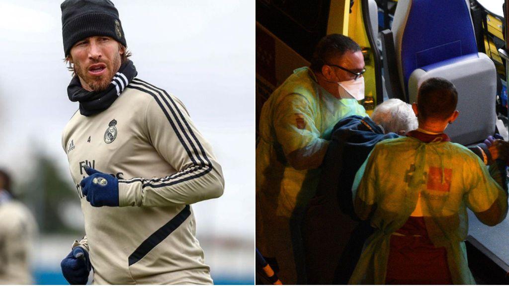 """Sergio Ramos se une al aplauso de toda España y agradece el esfuerzo de los profesionales de la Sanidad: """"Sois nuestros héroes"""""""