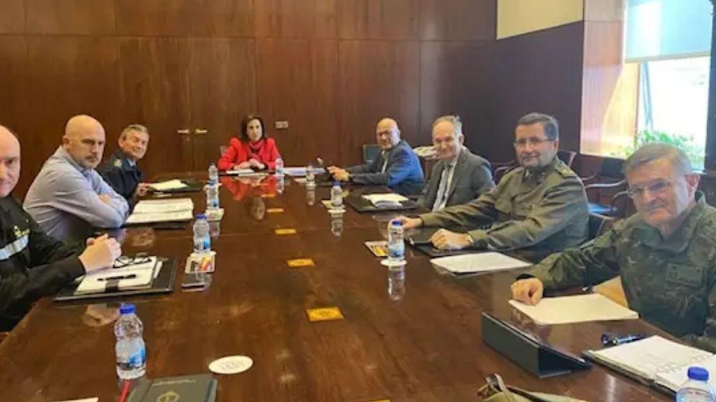 Reunión de la cúpula militar para hacer frente al coronavirus