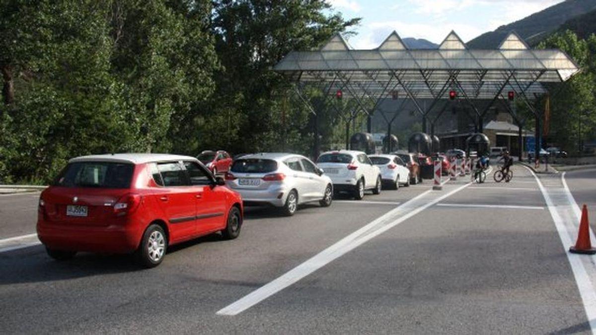 La frontera de Andorra con España limita los movimientos por el coronavirus