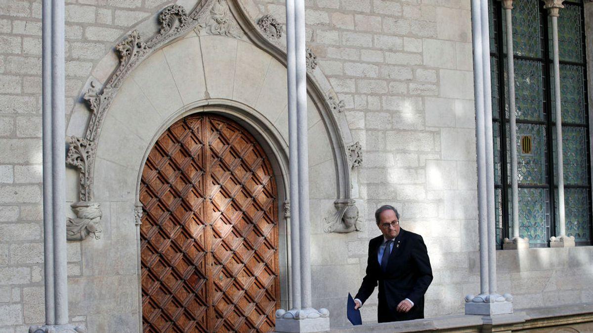 Torra tiene coronavirus: de pedir el confinamiento de toda Cataluña ha terminar confinado en su palacete oficial