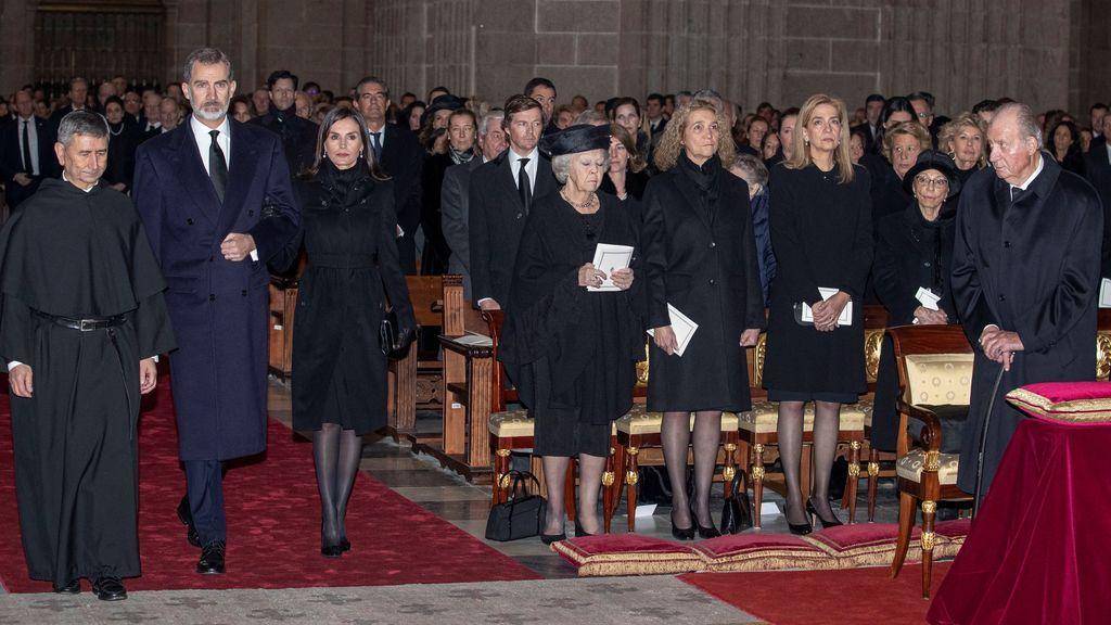 Funeral de la infanta Pilar