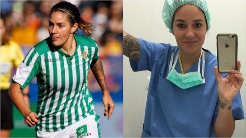 """Ana Romero, futbolista y médico, ofrece sus servicios sanitarios: """"Disponible para lo que haga falta, donde se me necesite"""""""