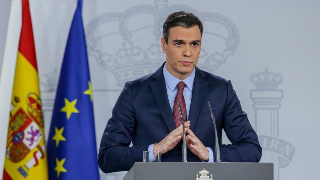Sánchez comparecerá el miércoles en el Congreso para informar del estado de alarma
