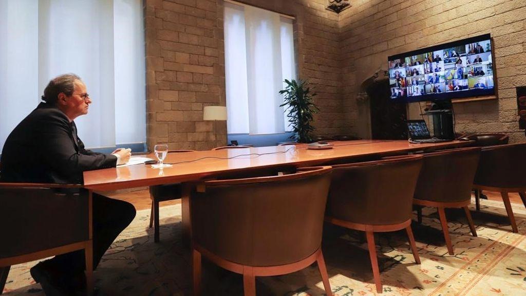 Última hora sobre el coronavirus: el presidente catalán, Quim Torra, positivo