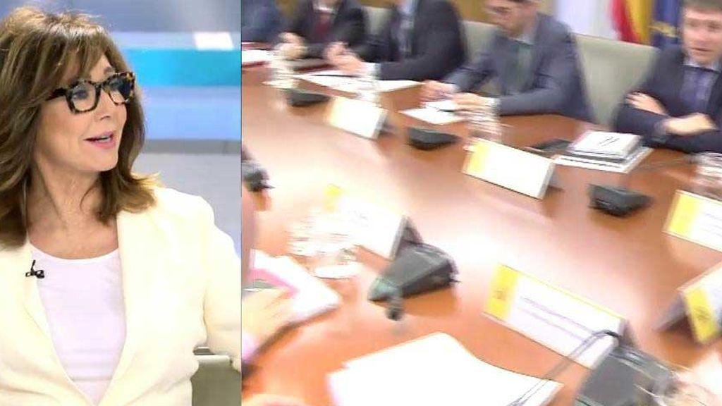 """Ana Rosa reprende a Ainda por su crítica al Gobierno: """"Ahora tenemos que permanecer sin fisuras a su lado"""""""