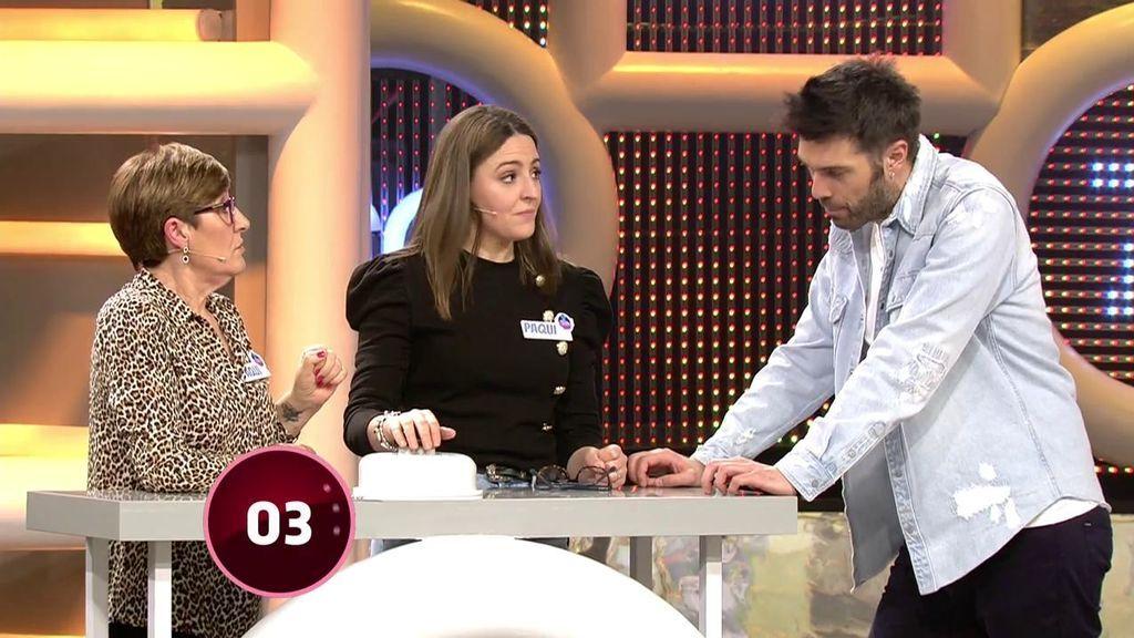 Paqui y Paqui se llevan 1.812 euros en el último intento de la ronda final