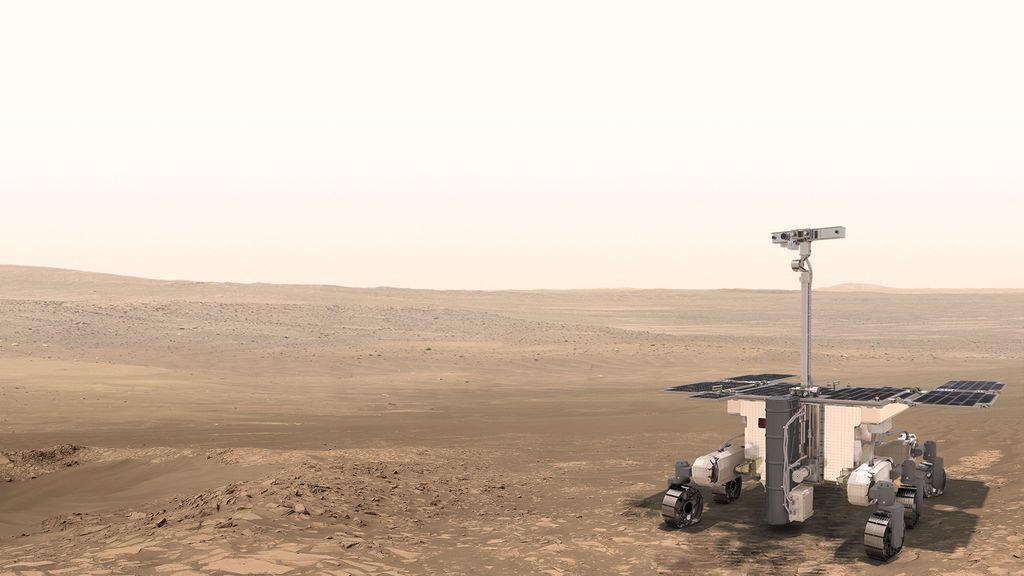 El coronavirus retrasa los vehículos y la exploración espacial europea en Marte hasta 2022