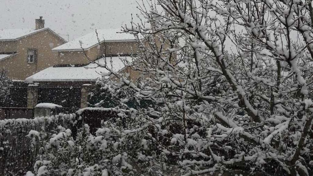 Cuarentena y nevadas: la sierra se cubre de blanco durante la crisis del coronavirus