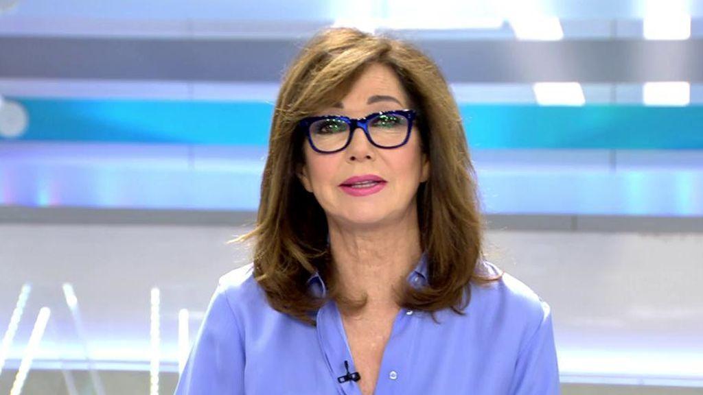 Ana Rosa y su equipo se quedan sin maquilladores como prevención al coronavirus