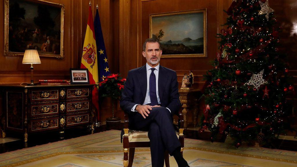 El rey dirigirá un mensaje a los españoles este miércoles a las nueve de la noche