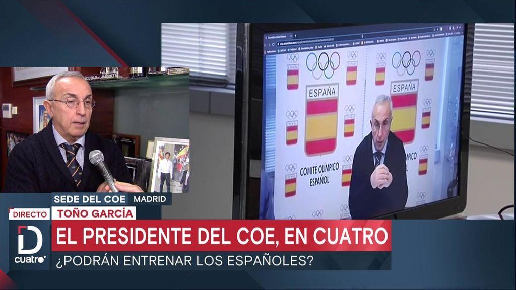 El presidente del Comité Olímpico Español, entrevistado en Deportes Cuatro