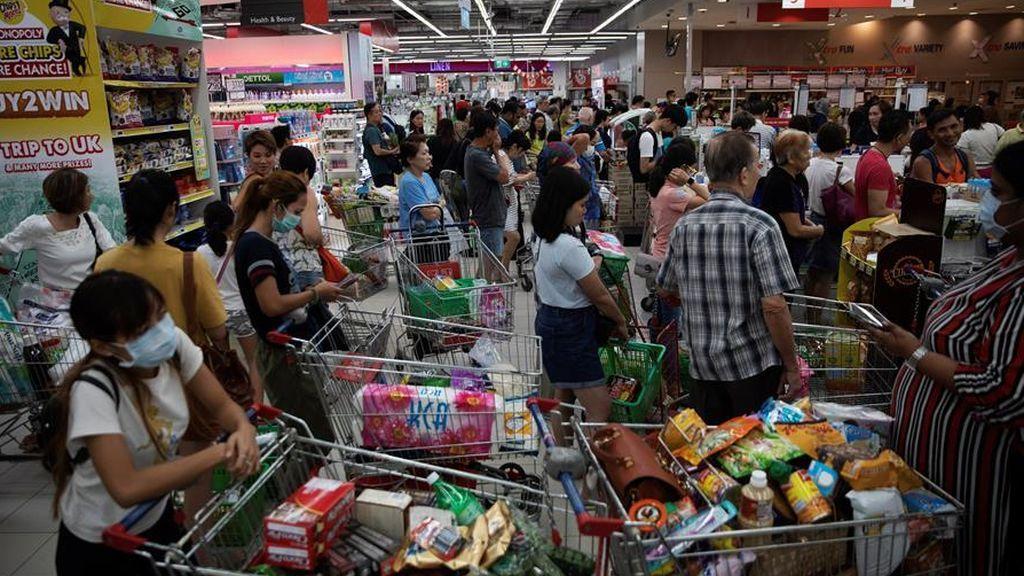 Malasia, supermercado