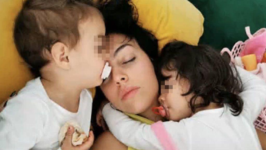 """Georgina Rodríguez,Alanay el momento de mucho amor durante la cuarentena: """"Te amo, mamá"""""""