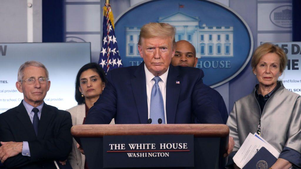El plan de Trump contra el coronavirus: mandará cheques a las casas de los afectados