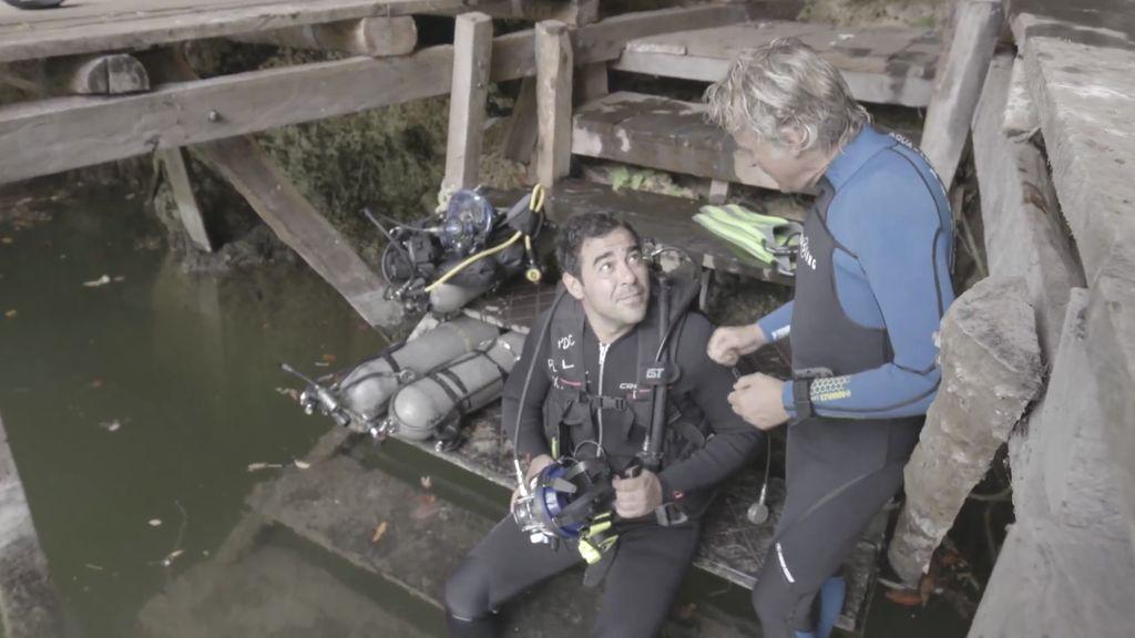 Pablo Chiapella buceará en México con un tiburón ballena, en 'Planeta Calleja'