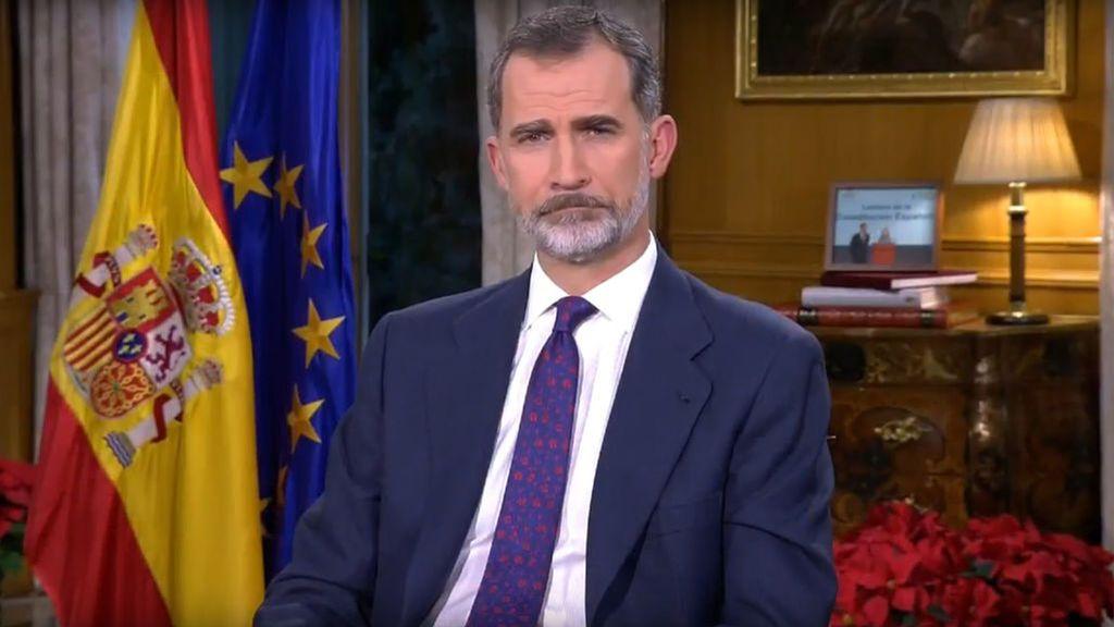 El Rey Felipe VI se dirigirá a los ciudadanos este miércoles a las 21:00 horas