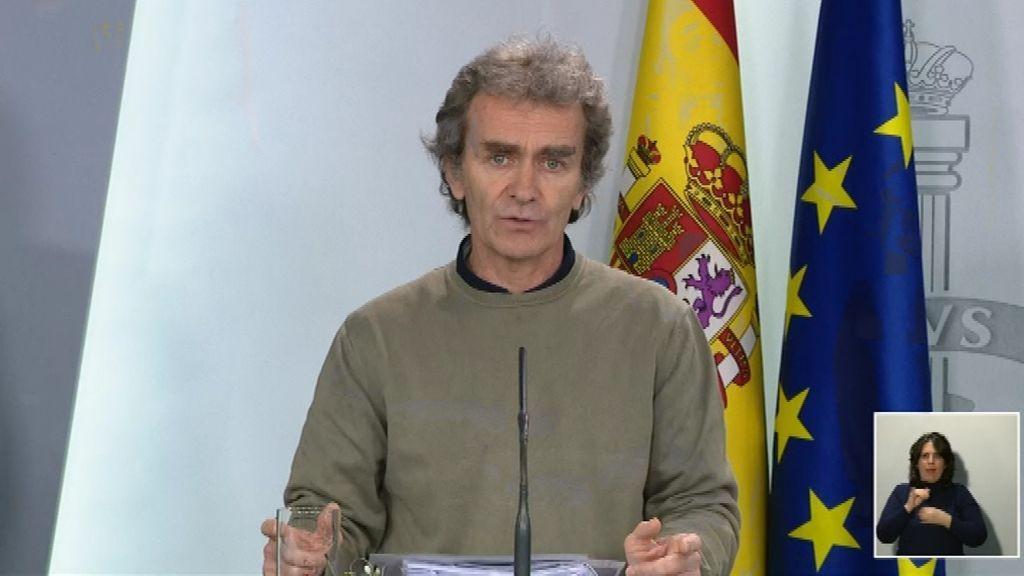 """Fernando Simón: """"No podemos permitir que la gentes se muera de hambre"""""""