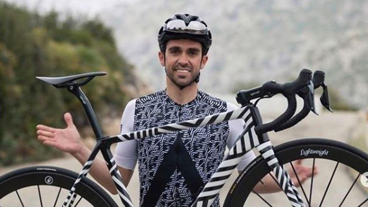 Alberto Contador ofrece entrenamientos gratis cada tarde a través de sus redes sociales