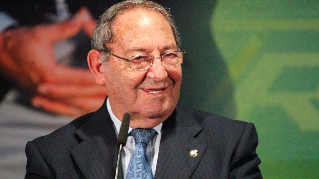 Paco Gento, exjugador del Real Madrid y leyenda del club