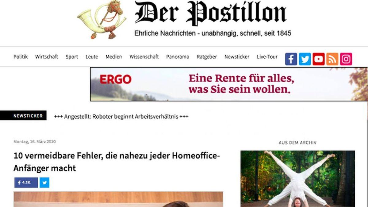 Los alemanes también ríen pese a la crisis del coronavirus