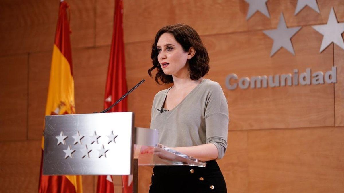 """Isabel Díaz Ayuso agradece a Frente Atlético ofrecimiento a ayudar: """"Grandes"""""""