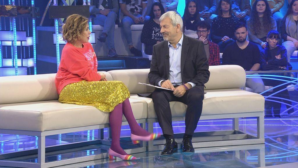 Ágatha Ruiz de la Prada recibirá una emotiva sorpresa en 'Volverte a ver'