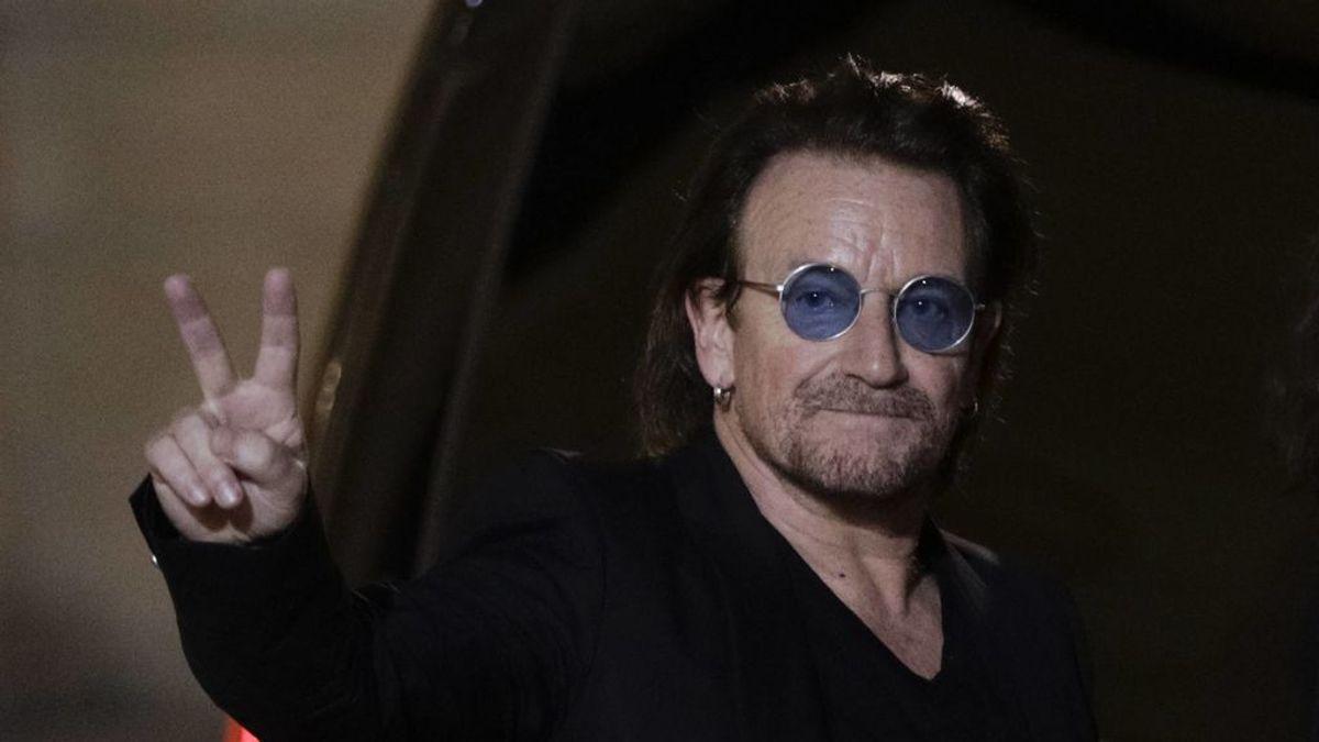 Bono, cantante de U2, comparte una canción en honor a los que luchan contra el coronavirus