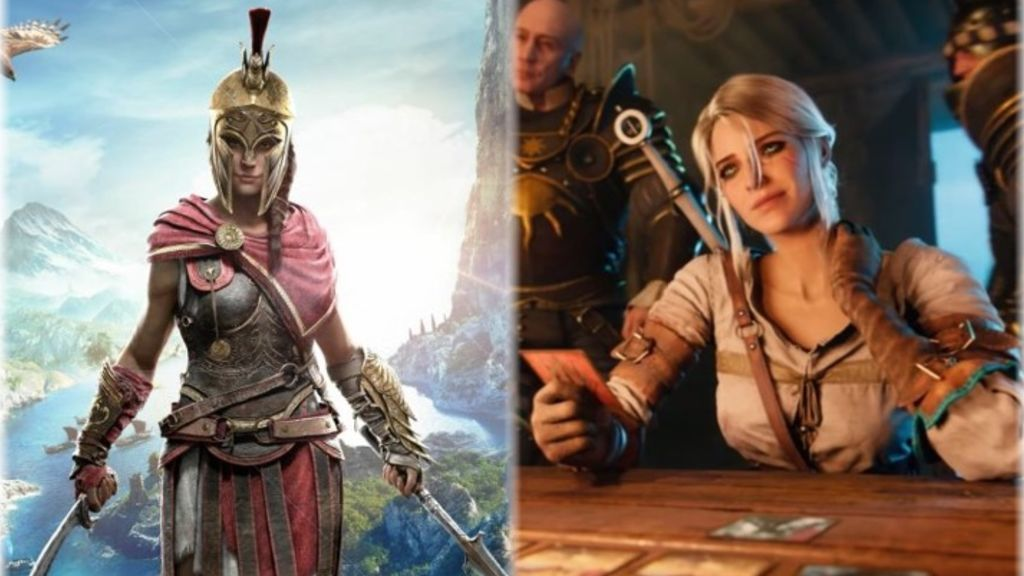 Assassin's Creed Odyssey y GWENT: The Witcher Card Game