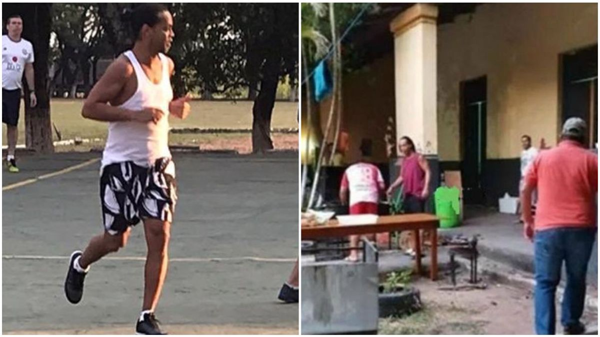 """Ronaldinho se confiesa con la visita de un amigo a la cárcel: """"Nunca más voy a volver a Paraguay"""""""