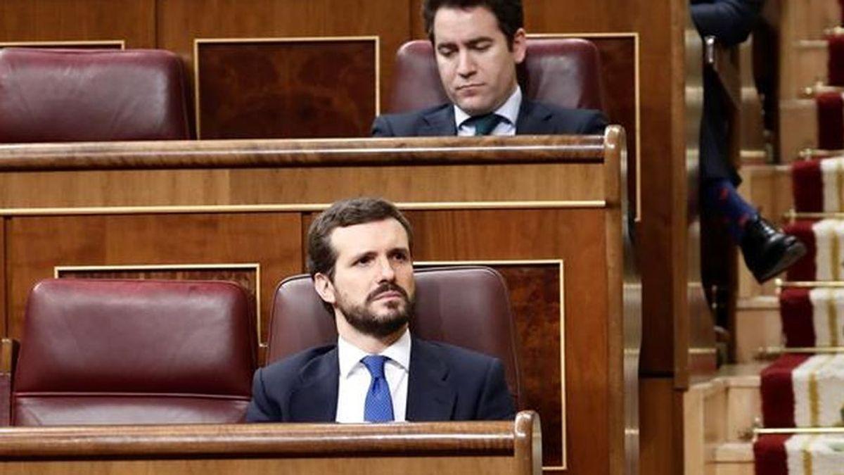 Pablo Casado interviene en el pleno del coronavirus