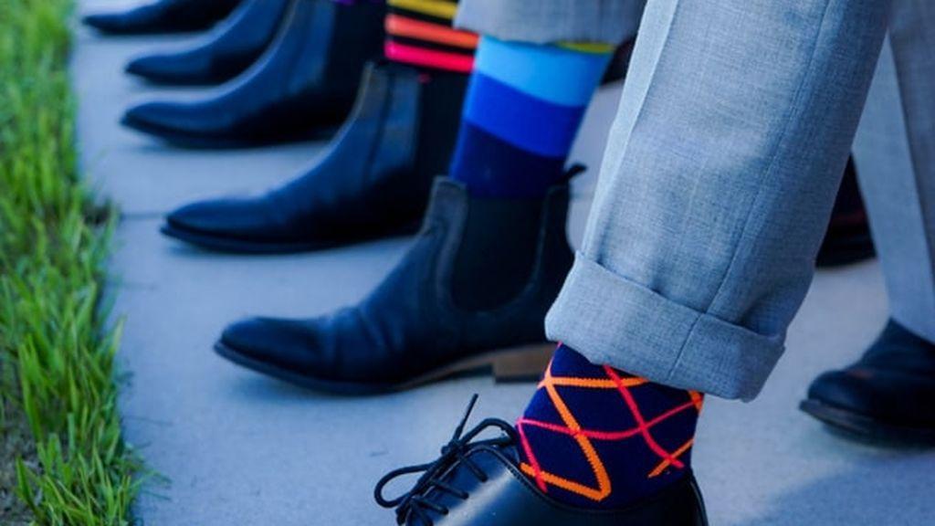 Guía para llevar calcetines con dibujos