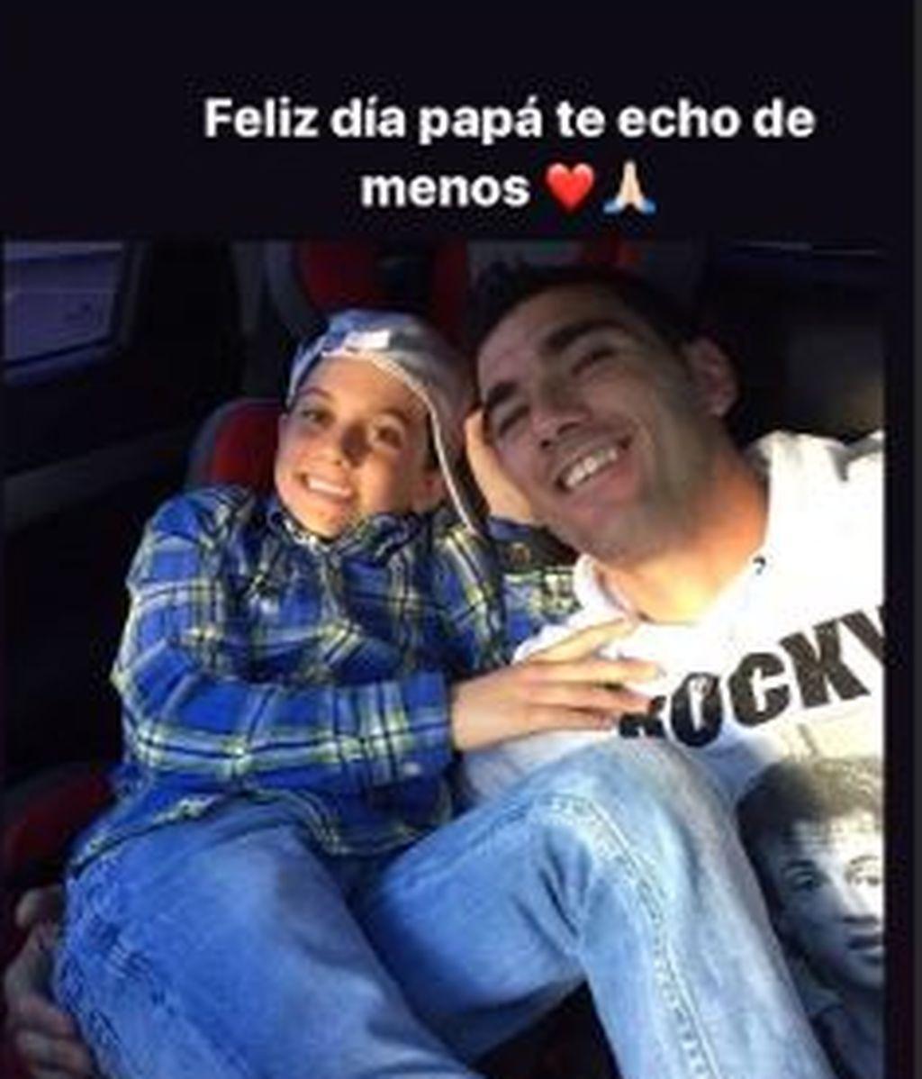 Mensaje de Jose Reyes a su padre