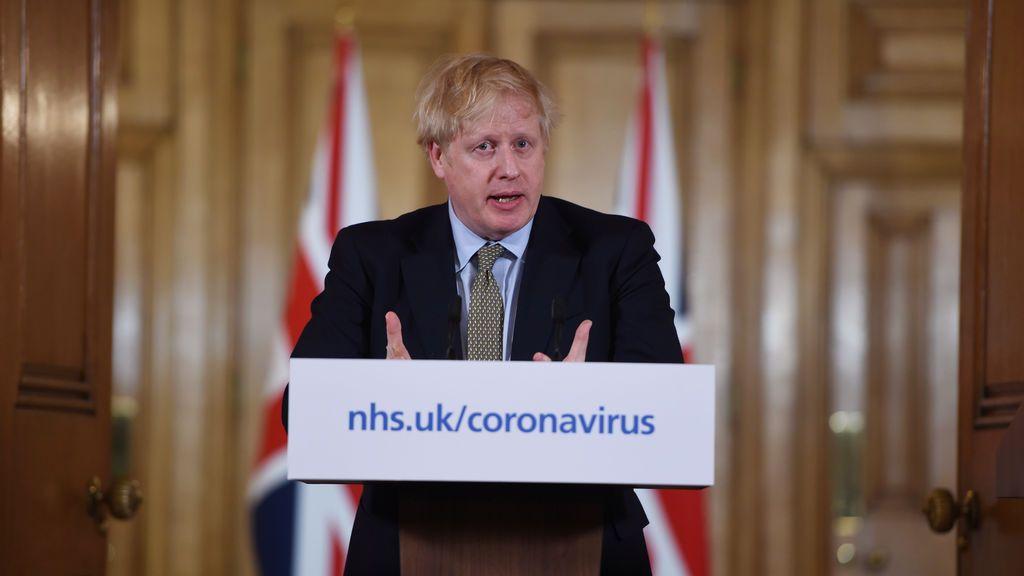 """Boris Johnson: """"Podemos acabar con el Coronavirus en tres meses"""""""
