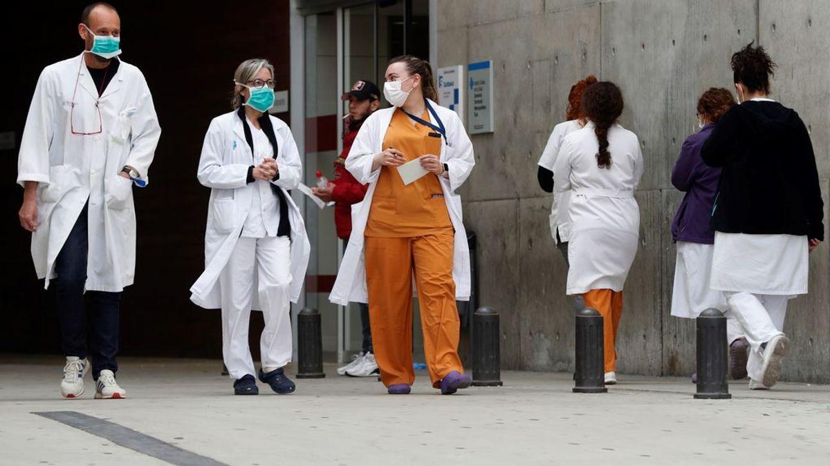 España cuenta con 50.000 sanitarios adicionales para hacer frente al coronavirus