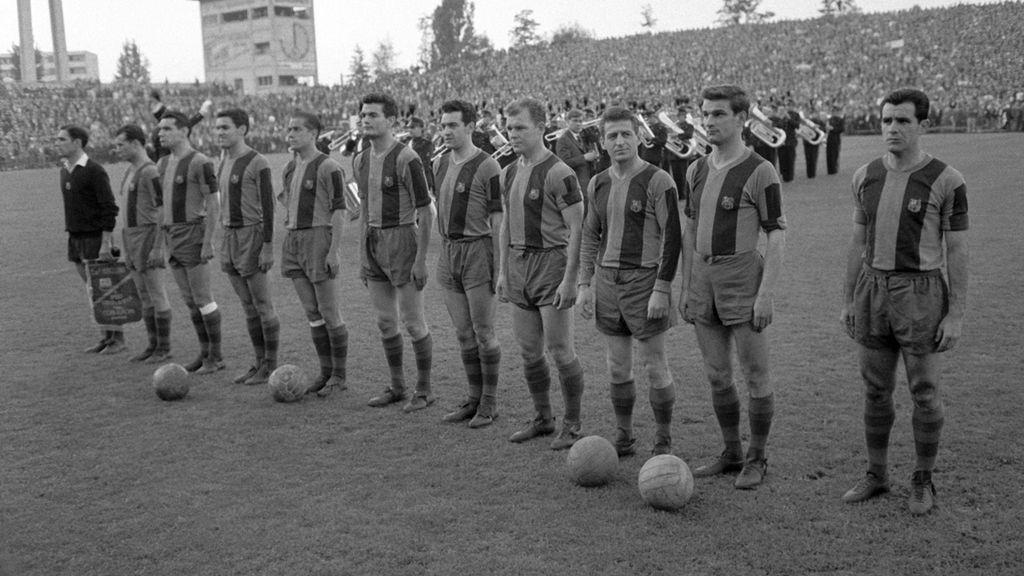 Kubala con el FC Barcelona
