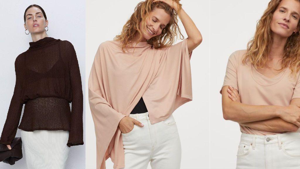 Los jerséis de Zara y H&M.