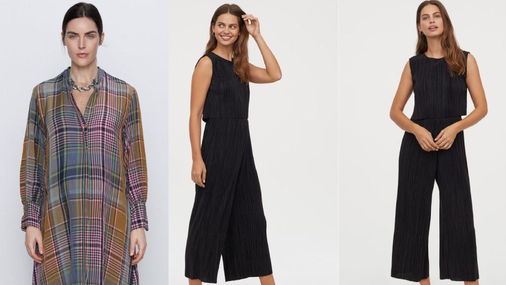 El vestido de Zara y el H&M.