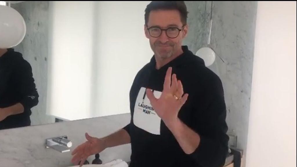 'Safe Hands Challange': los famosos se apuntan al reto de la OMS para lavarse las manos correctamente