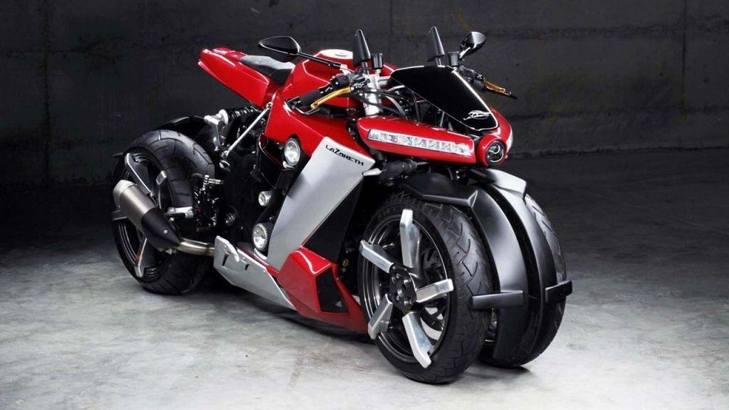 Lazareth LM 410, la moto de Terminator para tiempos apocalípticos y otras motos de 4 ruedas
