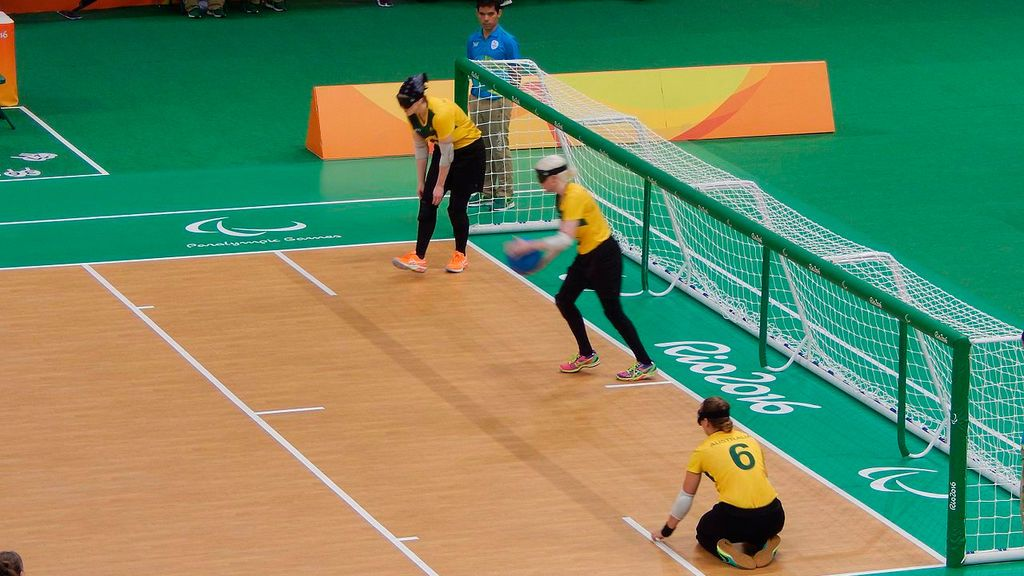 El goalball es uno de los deportes específicos que son paralímpicos