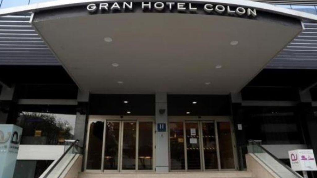 Antes era China, ahora es España: los hoteles se transforman en hospitales, el Gran Hotel Colón, el primero