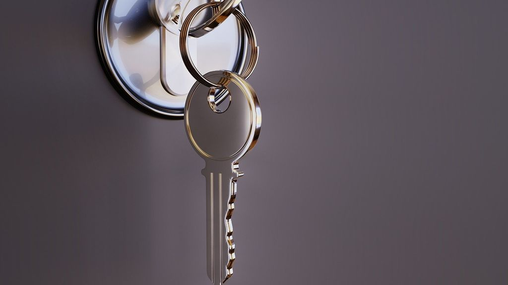 Las llaves se pueden limpiar con desinfectante o alcohol para evitar contagios