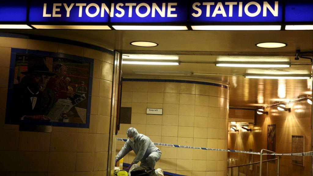 Estación de metro en Londres