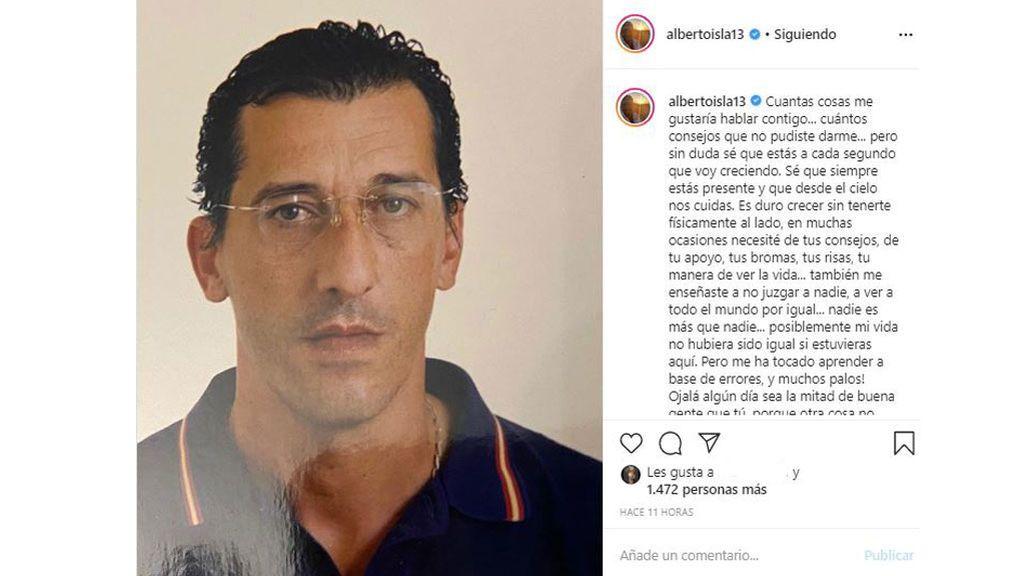 Alberto Isla le escribe una carta a su padre