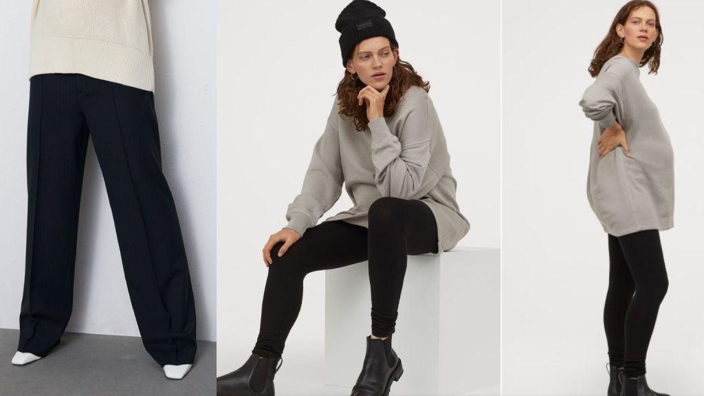 Los pantalones de Zara y H&M.