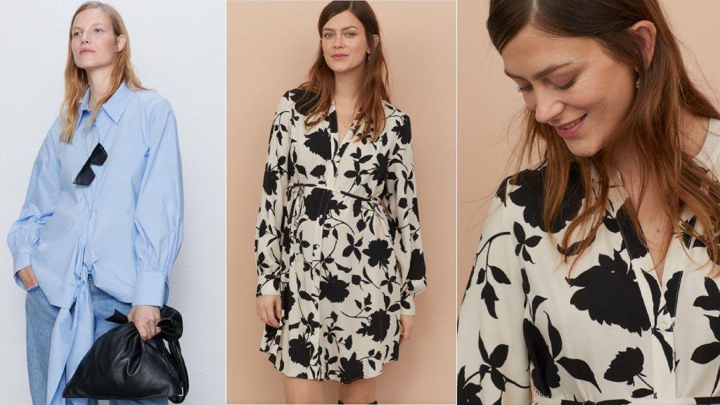 La camisa de Zara y H&M.