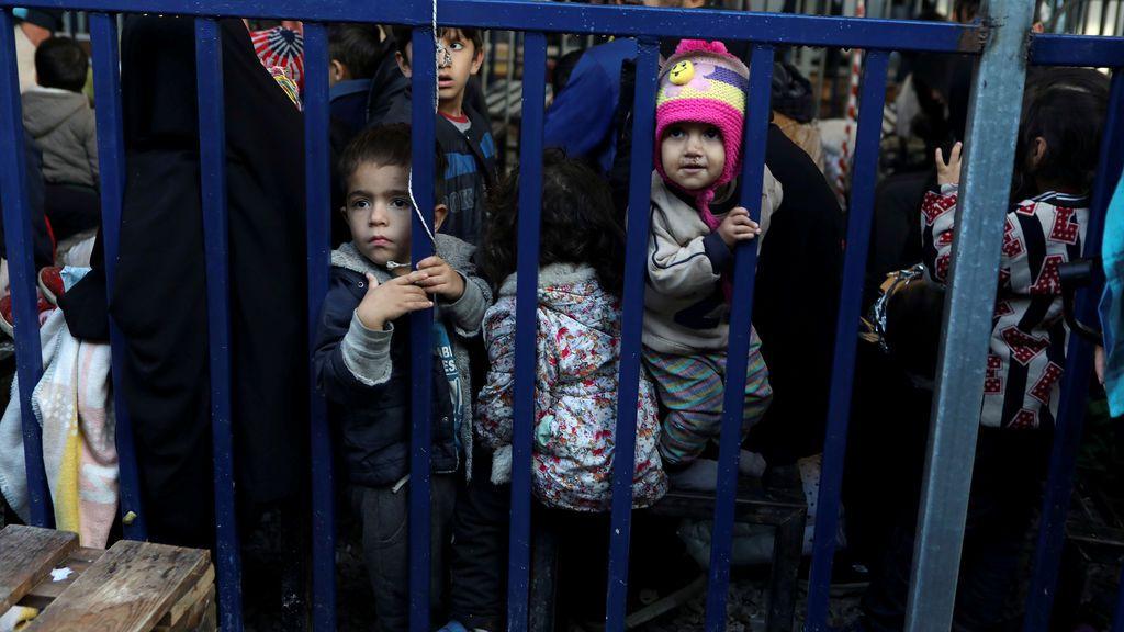Coronavirus... refugiados Lesbos: una bomba sanitaria